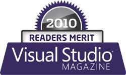 best web hosting merit award visual studio magazine