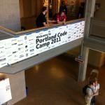 Portland Code Camp Banner