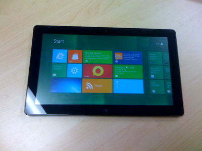 windows 8 tablet slate from BUILD
