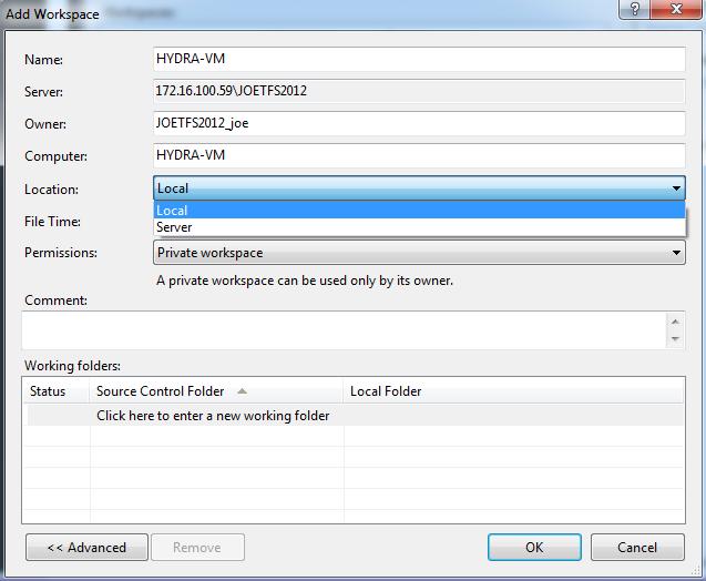 Team Foundation Server 2012: Improvements to Working Offline