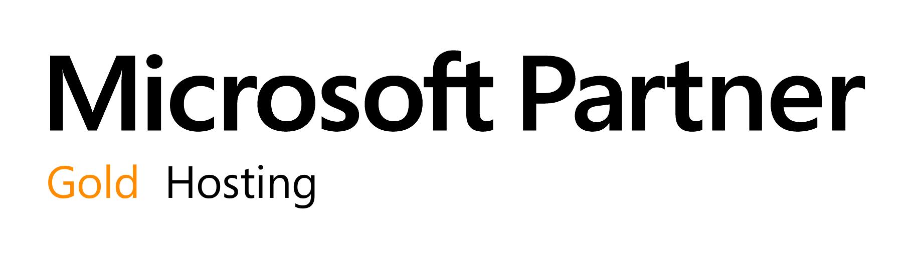 microsoft gold partner - hosting competency