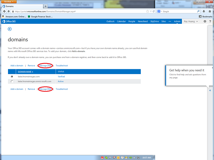 MicrosoftDNS