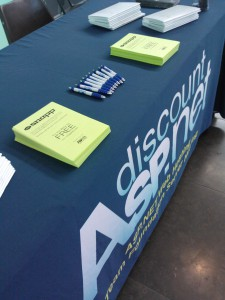 AZGroups Scott Guthrie Event - table after announcement