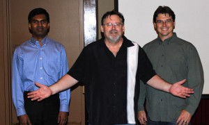 Left to Right: Ayyappan Nagender, James Johnson and Daniel Lewis