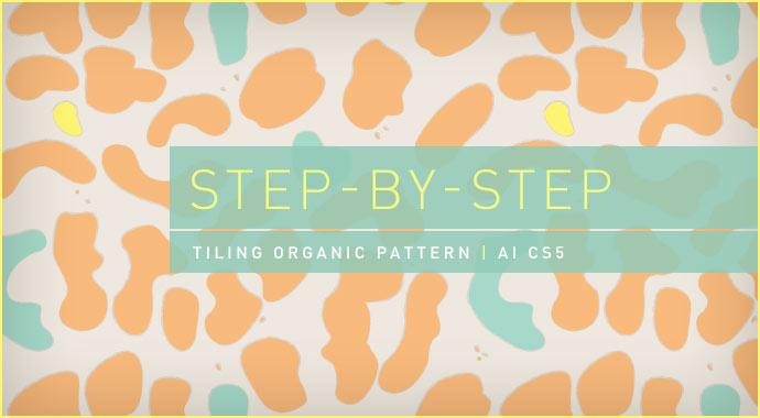 Step-by-Step: Tiling Organic Pattern | AI CS5